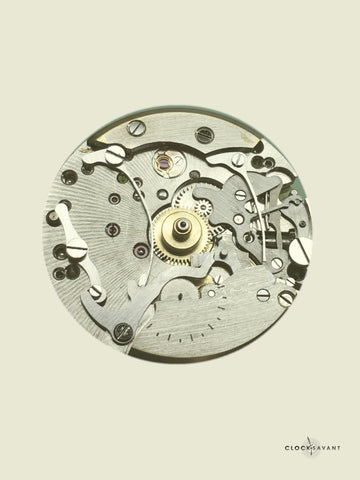 ClockSavant Omega 321 Lemania 27ch chronograph servicing and repair - addressing a lazy hour register counter
