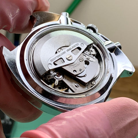 Servicing a 1970's Seiko Pogue 6139-6005 for the original owner