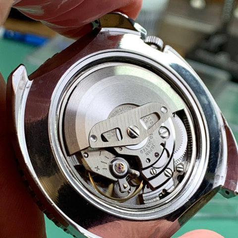 Servicing a Seiko Rally 6106-8227