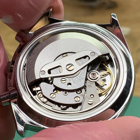 Servicing a Seiko 6139-7070 vintage chronograph - Discussion of vertical clutch and reset