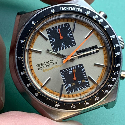 Servicing a Seiko 6138-0030 Kakume chronograph for the original owner
