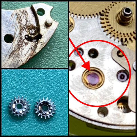 Servicing a family Rolex Precision Reference 6466 Calibre 1210