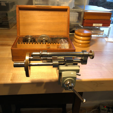 Watchmaker Screw Head Polisher - ClockSavant watch servicing, repair, and restoration