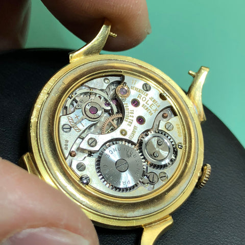 Vintage Rolex Precision 1940's Art Deco - Movement Back