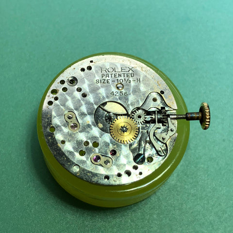Vintage Rolex Precision 1940's Art Deco - Dial Side Movement
