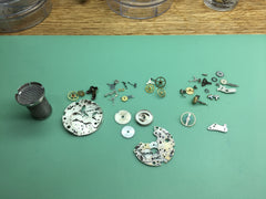 Disassembled Chronograph