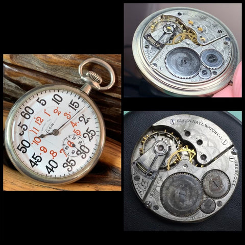 Preserving the past, bringing a Elgin 16s pocket watch from 1913 back to life