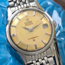 Sold - Omega Constellation Pie Pan Bracelet 1960 Cal 561 14393-7 SC - ClockSavant