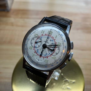 Sold - Omega Vintage Chronograph Calibre 321 Reference 2279-2 Circa 1942 - Fully Serviced by ClockSavant - ClockSavant