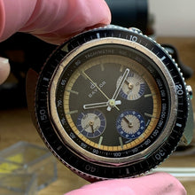 Baylor Valjoux 72 Vintage Chronograph Diver ~1960's - Fully Serviced by ClockSavant (Similar to Zodiac Sea Wolf) - ClockSavant