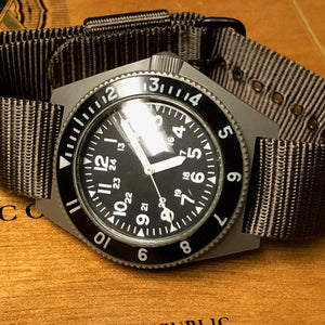 Sold - Benrus Type II Class B MIL-W-50717 Military Dive Watch With Hack Set - Rarest Version - Fully Serviced by ClockSavant - ClockSavant