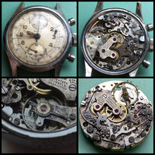 Upon Request Only - 1940's Bovet Valjoux 77 Vintage Chronograph - ClockSavant Survivor - Fully Serviced by ClockSavant - ClockSavant