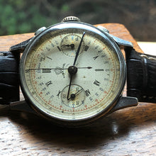 1940's Super Royal Rare Landeron 52 Column Wheel Vintage Chronograph - Fully Serviced by ClockSavant - ClockSavant