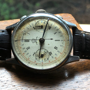 Upon Request Only - 1940's Super Royal Rare Landeron 52 Column Wheel Vintage Chronograph - Fully Serviced by ClockSavant - ClockSavant