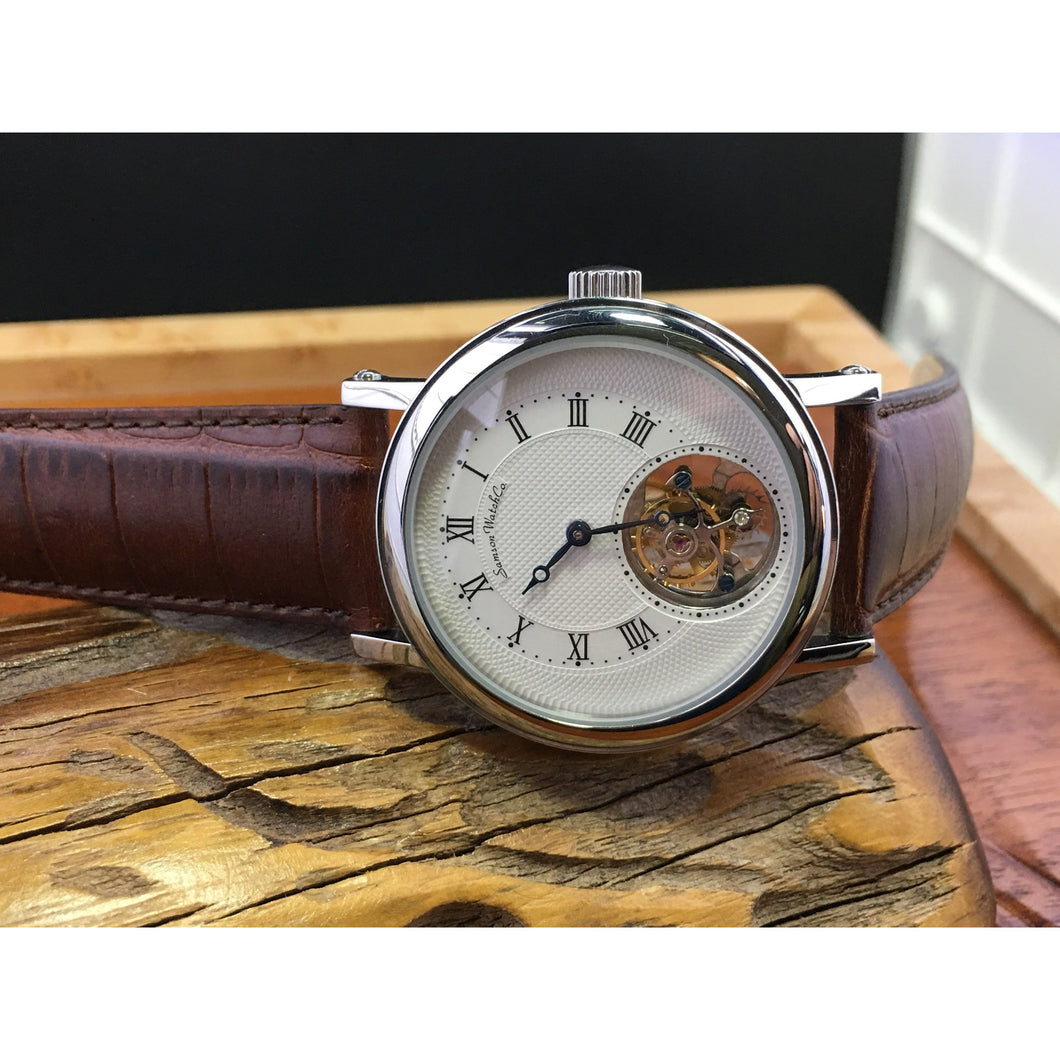 Sold - Samson Seagull Real Chinese Tourbillon - ClockSavant