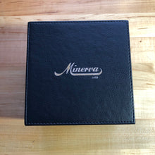 Minerva 140th Anniversary with Boxes & Papers and New Old Stock Minerva Alligator Strap - ClockSavant