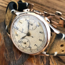 Upon Request Only - Tissot (Omega 33.3) Lemania 15TL 1940's Vintage Chronograph Fully Serviced by ClockSavant - ClockSavant
