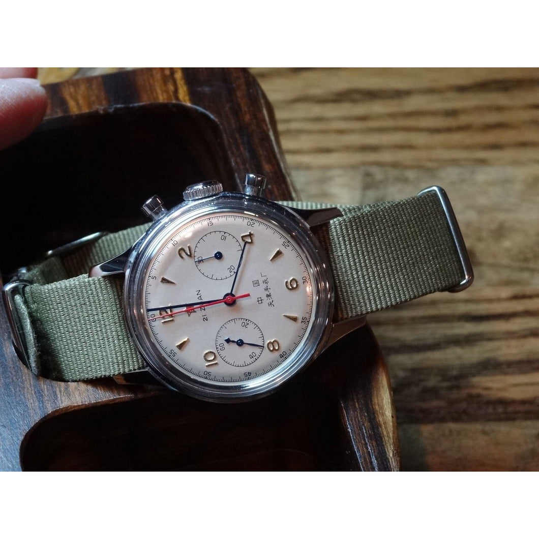 Sold - Seagull 1963 Chronograph Chinese Calibre ST19 - ClockSavant