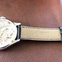 Upon Request Only - Minerva 140th Anniversary with Boxes & Papers and New Old Stock Minerva Alligator Strap - ClockSavant