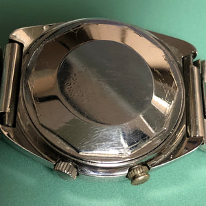 Mido Matic-Alarm AS 5008 Vintage Automatic Alarm Day Date Full Length Original Bracelet - ClockSavant