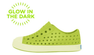 Native chartreuse glow shoe