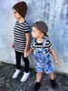 Beau Hudson gender neutral striped tee