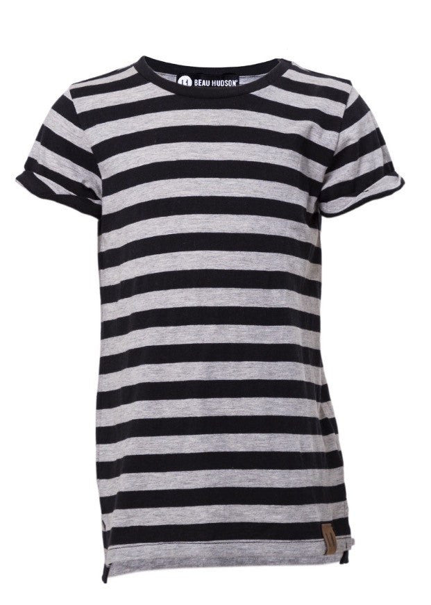 Beau Hudson striped tee