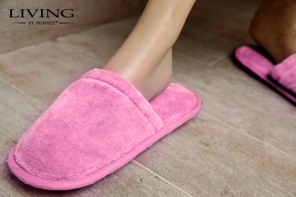 Velour Terry Slippers
