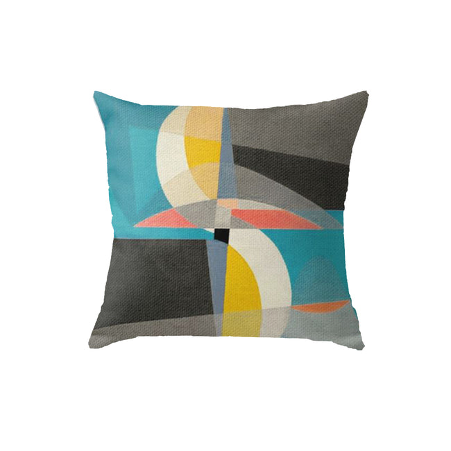 SuperSoft Sailing on the Canal Throw Pillow