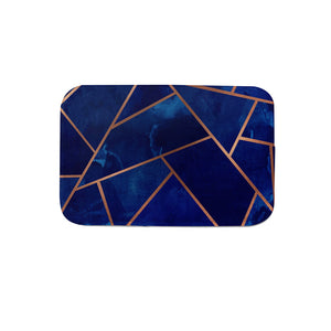 SuperSoft Navy & Copper Door Mat