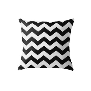 SuperSoft Black And White ZIG-ZAG