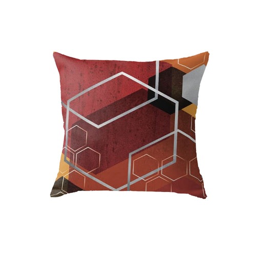 SuperSoft Red Lux Throw Pillow