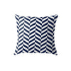 SuperSoft Blue Uneven Throw Pillow