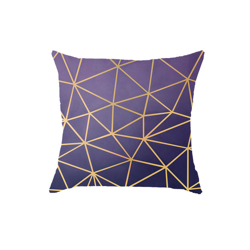 SuperSoft Purple Spark Throw Pillow