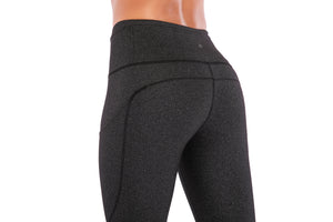 Grey Crazy Yoga Pant