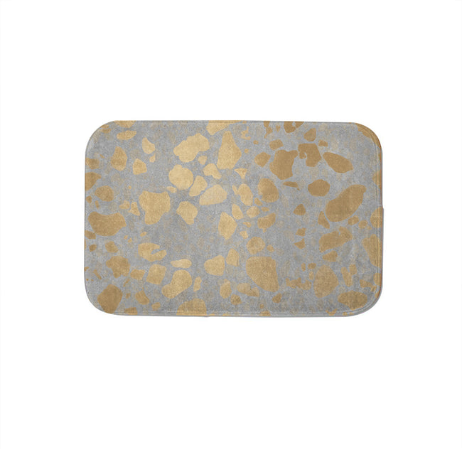 SuperSoft Gold on Grey Door Mat