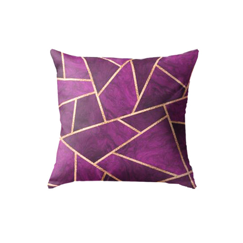 SuperSoft Purple Geometric