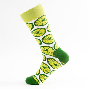 Lime Crazy Socks