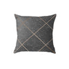 SuperSoft Copper Concrete Throw Pillow