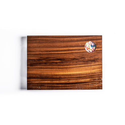 Sarae Straight Wooden Cutting Board