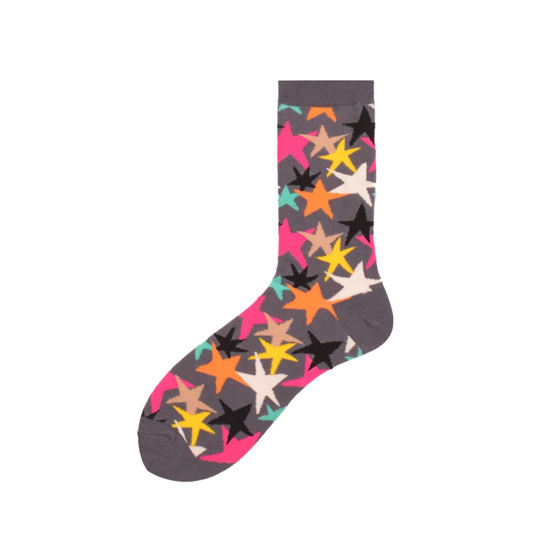 Multi Star Crazy Socks