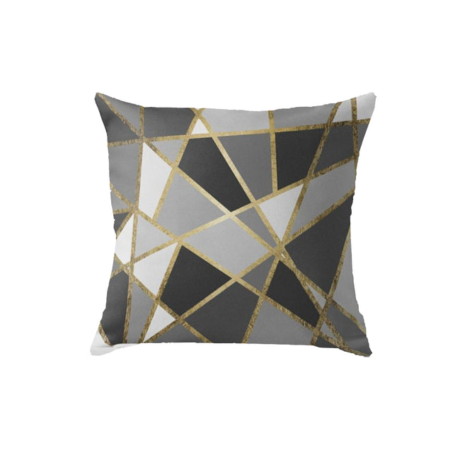 SuperSoft Luxe Geometric Throw Pillow