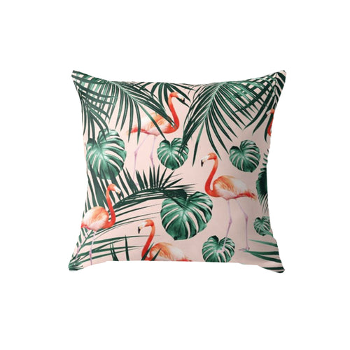 SuperSoft Tropical Flamingo Pattern