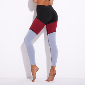 Red, Black & Grey Crazy Yoga Pant