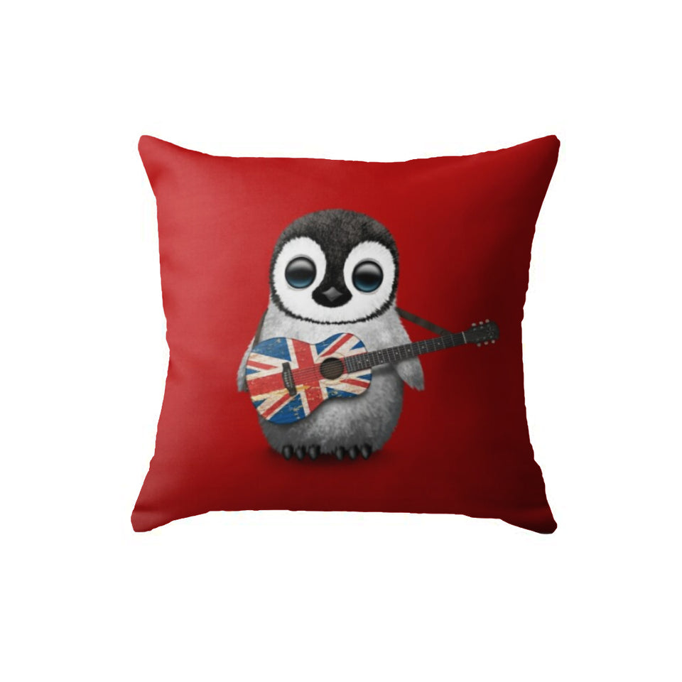 SuperSoft Musical Penguin Red