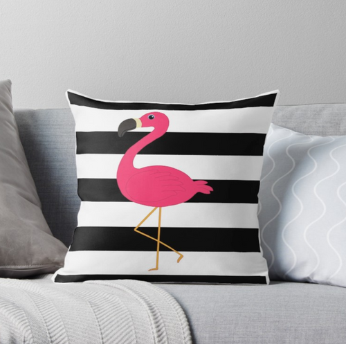 SuperSoft Pink Flamingo