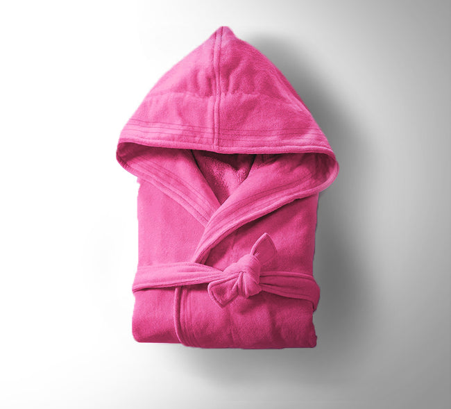 Kid's/Teen Velour Hooded Bathrobe