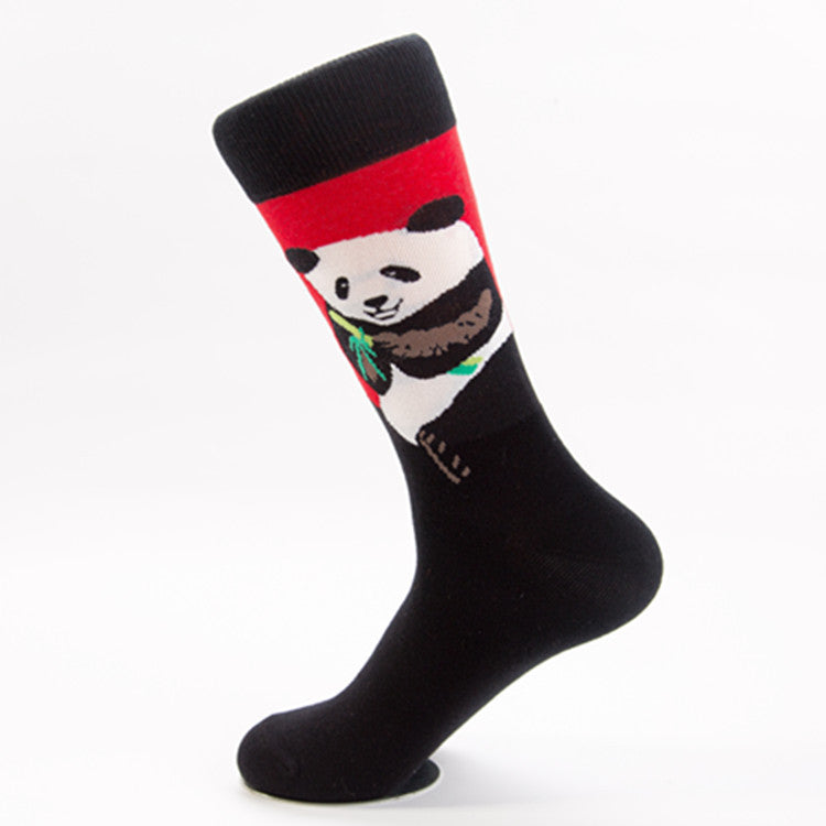 Lonely Panda Crazy Socks