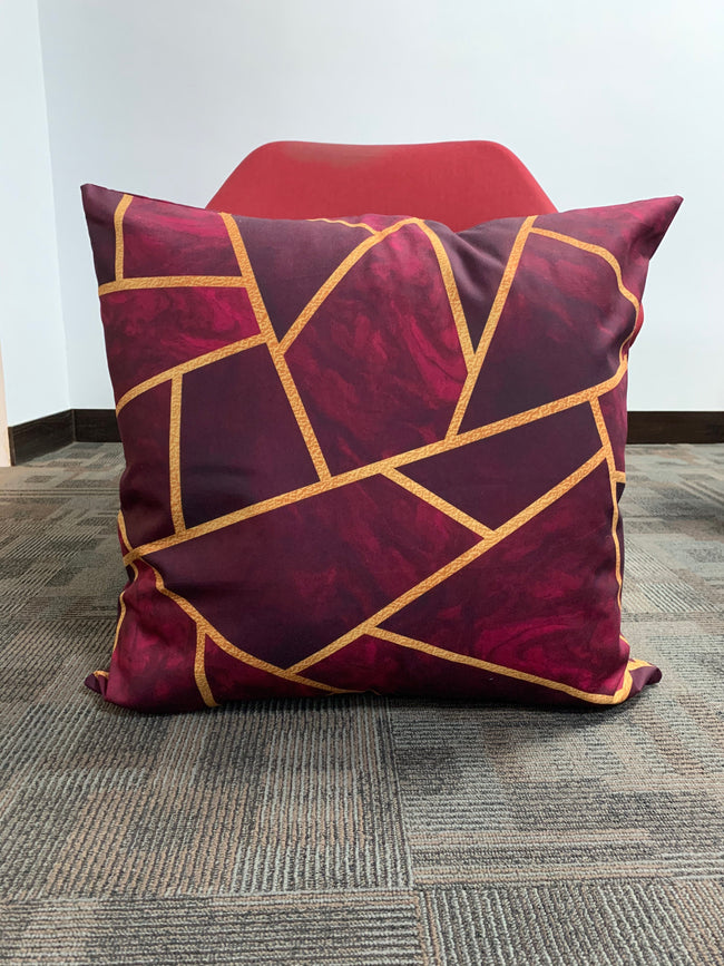 "(26""x26"") SuperSoft Abstract FLOOR Cushion Cover"