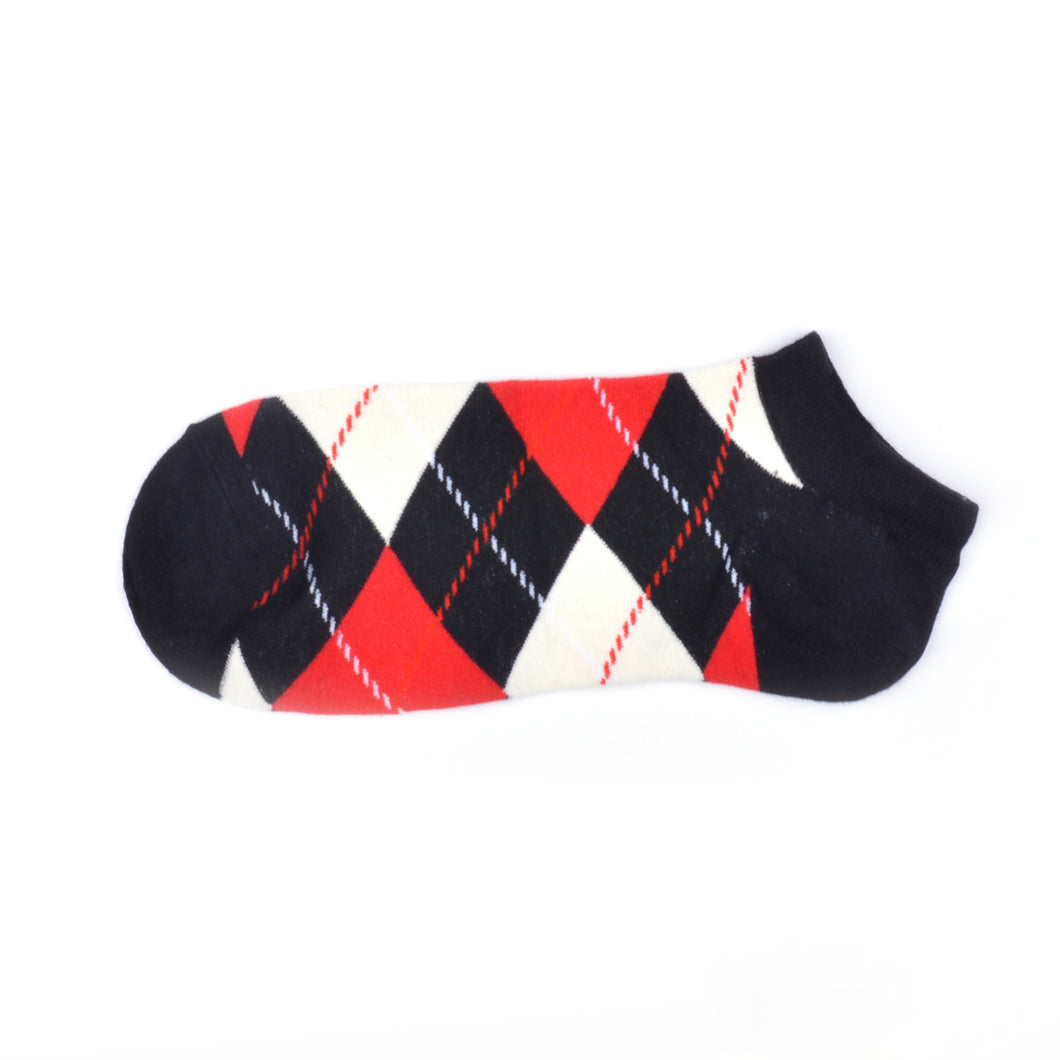 Diamond Red Summer Crazy Socks